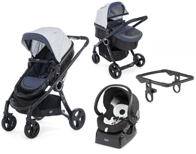 Chicco Urban Plus CROSSOVER 3v1 2017 - Denim Special Edition