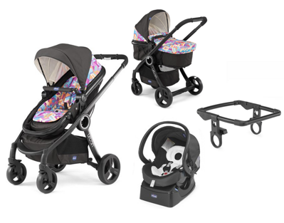 Chicco Urban Plus CROSSOVER 3v1 2016 - Itty Bitty City Special Edition