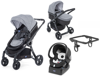 Chicco Urban Plus CROSSOVER 3v1 - Legend Special Edition