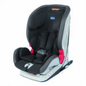 Chicco Autosedačka Youniverse Fix - Jet Black 9-36kg